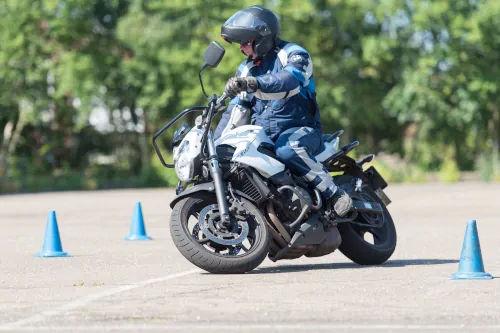 Motorrijbewijspoint Lelystad motor rijtest